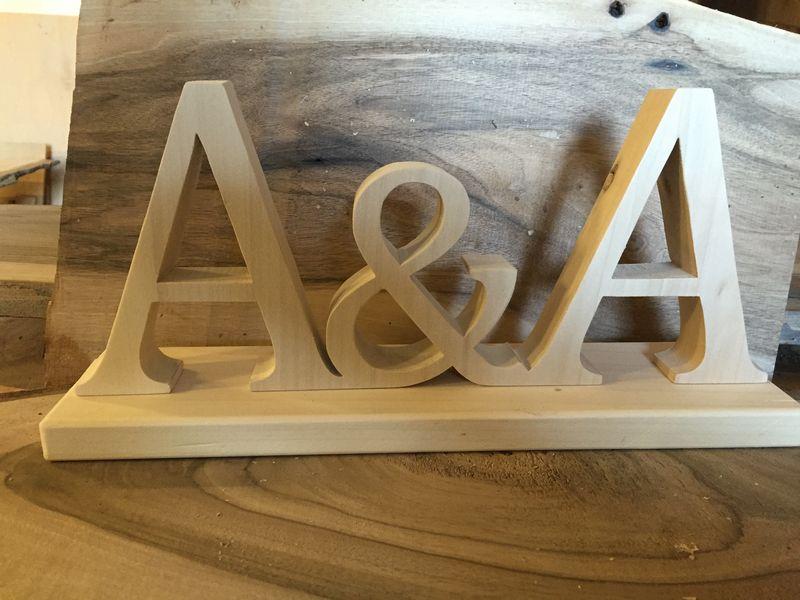 Drewniane Dekoracje ślubne Wodereu