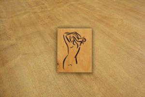 Drewniane obrazy wycinane
