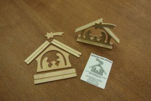 Drewniane ozdoby na Boże Narodzenie