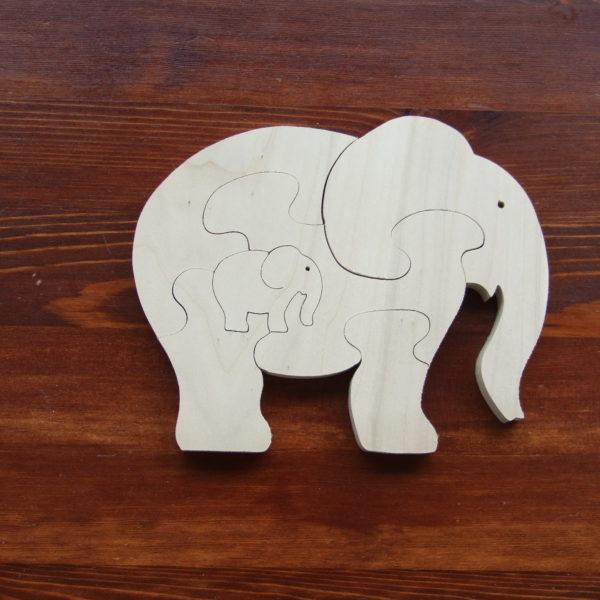 Drewniane puzzle