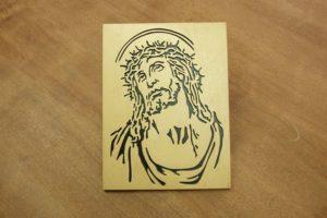 Drewniane sakralia - obrazy wycinane