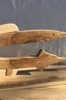 Drewniane trofeum wędkarskie – Belona