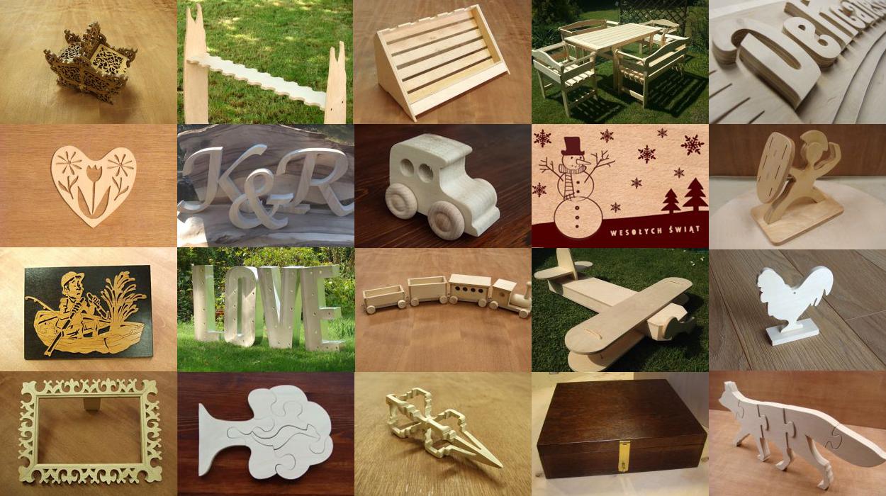 Wycinanie artystyczne w drewnie i sklejce