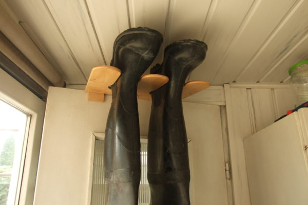 Wieszak na buty gumowe