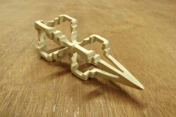 Drewniane ozdoby 3D