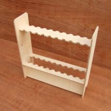 Drewniany stojak na wędki (20 szt.)