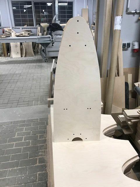 Drewniany stojak na wędki (20 szt.) Tubertini